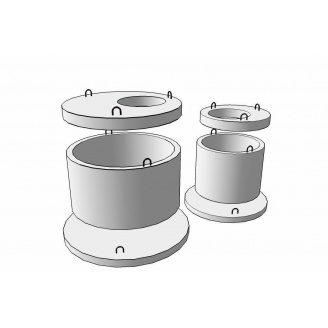 Плита перекриття колодязя 1 ПП 30-2