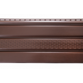 Соффит ASKO коричневая перфорированная 3.5 м 1.07 м2