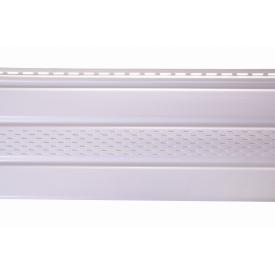 Соффит ASKO белая перфорированная 3.5 м 1.07 м2