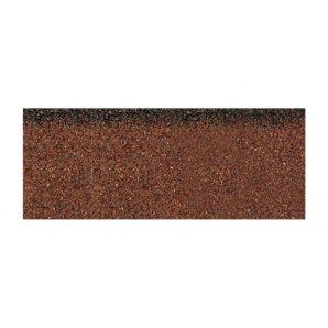 Гребенево-карнизна черепиця Aquaizol 250х1000 мм коричневий мікс