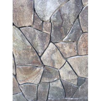 Камень ALEX Group Закарпатский андезит 2,5 см шоколад