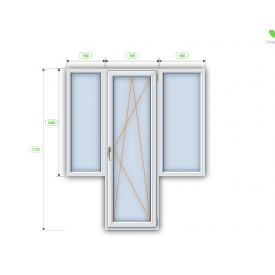 Балконный блок Steko R600 3200х1500 мм