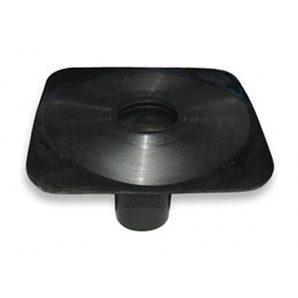 Покрівельна Воронка Aquaizol 100 мм чорний