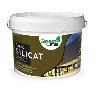 Фасадная силикатная краска Fasad Silicat