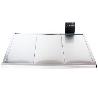 Реечный потолок Бард ППР-КФ-150 серебро металлик комплект 100x150 см