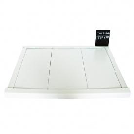 Реечный потолок Бард ППР-КФ-100 белый матовый комплект 100x150 см