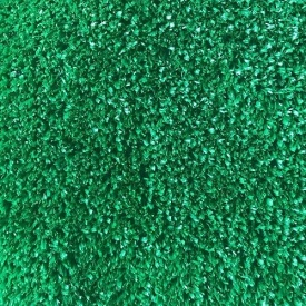 Декоративная искусственная газонная трава на резиновой основе зеленая для дачи 7 мм на отрез