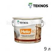 Лак для дерева специальный Teknos HELO 40 9 л полуглянцевый