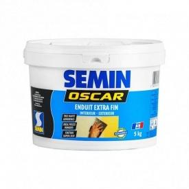Шпатлевка готовая супердробная SEMIN OSCAR ТМ 5 кг