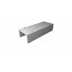Лоток теплотрасс Л1-8/2 железобетонный 3,006,1-2,87 2970x420x360 мм