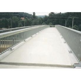 Установка системы стаивания льда и снега для мостов