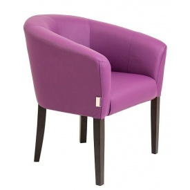М'яке крісло Richman Версаль 80х65х65 см фіолетовий глянець