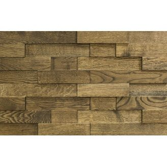 Панель декоративная с 3Д эффектом Tarwood дуб Каштан 200x400x15 мм