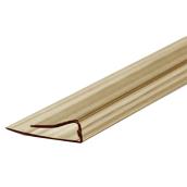 Торцевой профиль Berolux UP 4 мм 2,1 м бронзовый (20180206)