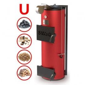 Котел твердтопливный тривалого горіння універсальний SWAG 10 кВт U