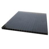 Сотовый поликарбонат Sotalux 12000х2100 мм 6 мм серый (20180110)