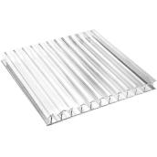 Стільниковий полікарбонат Sotalux 12000х2100 мм 4 мм прозорий (20180101)