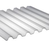 Поликарбонат монолитный BorreX Трапеция 0,8 мм 1050x2000 мм прозрачный (20180191)