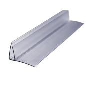 Пристінний профіль 4-6 мм Berolux прозорий 6 м (20180253)