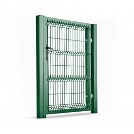 Калитка для ограждений с ППЛ покрытием 1х2,23 м зеленая