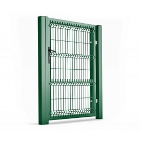 Калитка для ограждений с ППЛ покрытием 1х1,73 м зеленая