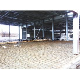 Пристрій бетонної плити підлоги