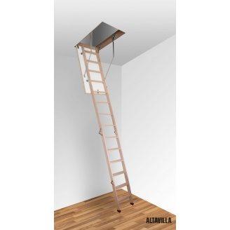 Чердачная лестница Altavilla Termo 4s 90х80 см с крышкой 26 мм