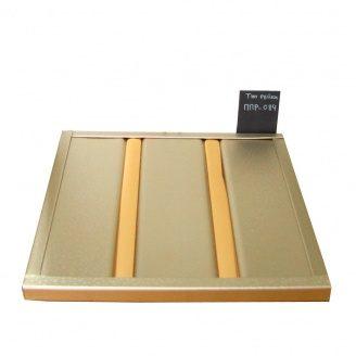 Реечный потолок Бард ППР-084 энигма бронза 100x100 см