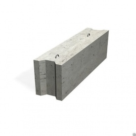 Фундаментный блок ФБС 12.4.6 400х580х1180 мм