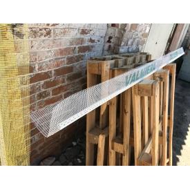 Профиль PVC угловой с армирующей сеткой Valmiera 10х10 см 2,5 м