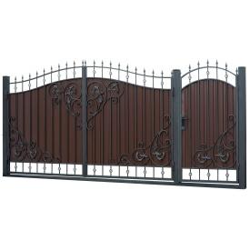 Ковані ворота та хвіртка ВД-19