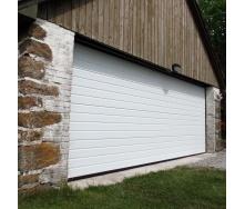 Секційні гаражні ворота Alutech Prestige S-гофр