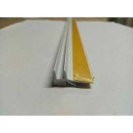 Профиль оконный примыкания с манжетой 6 мм без сетки