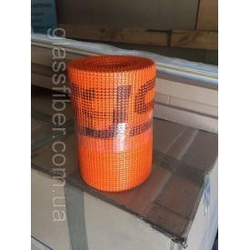 Стеклосетка лента 145 г/м2 SSA 1363-145 20 см оражевая