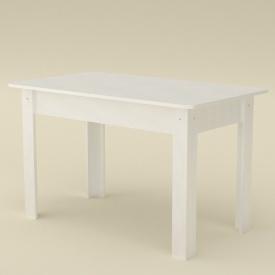 Розсувний стіл Компаніт КС-5 дсп 1645х700х736 мм білий