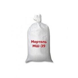 Мертель шамотный МШ-39 ВАОК 25 кг