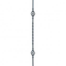 Кованая стойка прямая 950х60 мм (21.025)