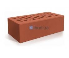 Кирпич лицевой Евротон утолщенный 250х120х88 мм красный