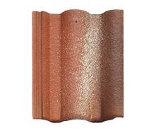 Цементно-песчаная черепица BRAAS Адрия Slury 420х330 мм красный