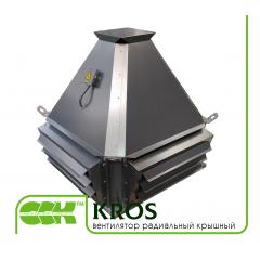 KROS вентиляторы крышные радиальные с выходом потока в стороны