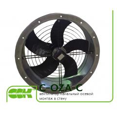 C-OZA-C вентилятор канальный осевой монтаж в стену