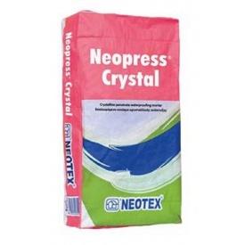 Цементная гидроизоляция проникающего действия Neopress Crystal 25 кг