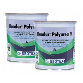 Прозрачная полимочевина для ремонта натуральных камней Neodur Polyurea M