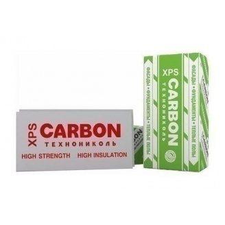 Пенополистирол экструдированный XPS ТехноНИКОЛЬ CARBON ECO 1200х600х20 мм