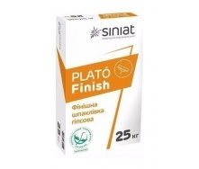 Фінішна шпаклівка SINIAT PLATO Finish гіпсова 25 кг