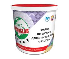 Краска интерьерная Anserglob акриловая 15 кг белый