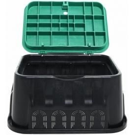 Колодец прямоугольный 14 пластмассовый 485х620х300 мм