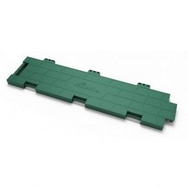 Модульное защитное покрытие Ecoteck Ice Cover 157,4х628,3х24 мм зеленое
