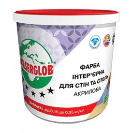 Фарба інтер'єрна Anserglob акрилова 15 кг білий
