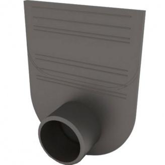 Заглушка-переходник Ecoteck STANDART для пластиковых лотков 100.125 и 100.175 черная